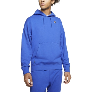 Men's Tennis Shirts and Hoodies Nike Fleece Heritage Hoodie  Game Royal BV0760480