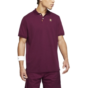 Men's Tennis Polo Nike Heritage Natural Polo  Bordeaux BQ4461609