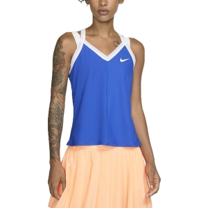 Women`s Tennis Tanks Nike Maria Tank  Game Royal/White AT9182480