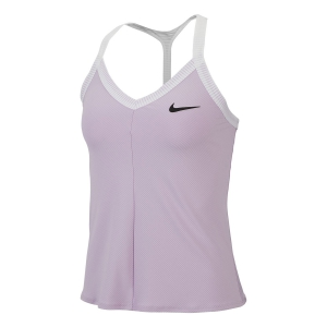 Women`s Tennis Tanks Nike Maria Tank  Lilac Mist/White/Black AT9182543