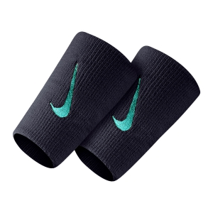 Tennis Head and Wristbands Nike Premier DoubleWide Wristbands  Gridiron/Cabana N.000.2466.058