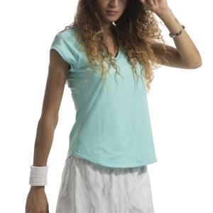 Women`s Tennis T-Shirts and Polos Nike Pure TShirt  Light Aqua 728757434