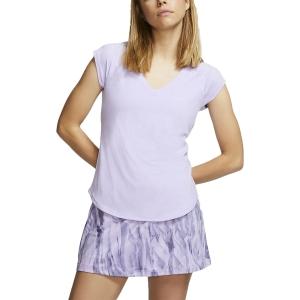 Women`s Tennis T-Shirts and Polos Nike Pure TShirt  Purple Agate 728757552