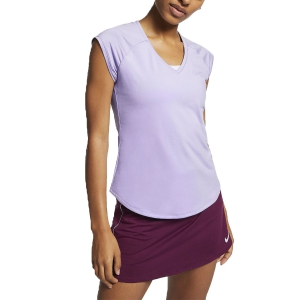 Women`s Tennis T-Shirts and Polos Nike Pure TShirt  Violet 728757508