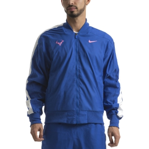 Chaquetas Tenis Hombre Nike Rafa Chaqueta  Game Royal/China Rose AT4367480