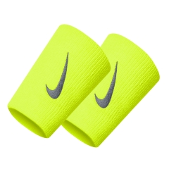 Nike Double-Wide Wristbands - Blue/White/Red