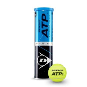 Dunlop Tennis Balls Dunlop ATP Official  4 Ball Can 601314