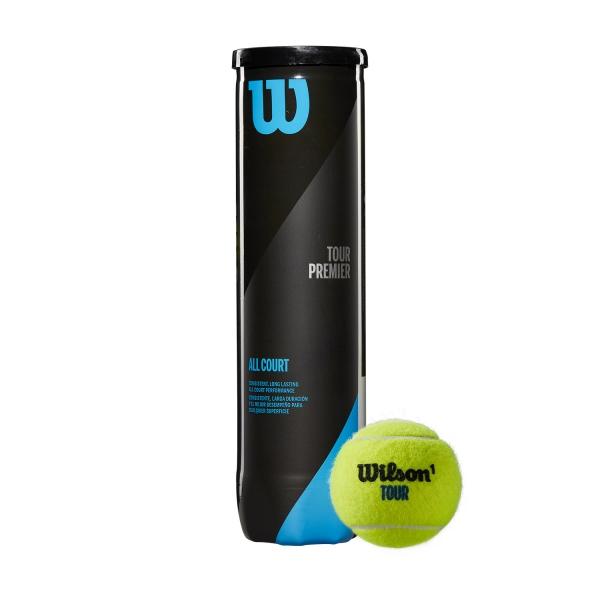 Wilson Tour Premier All Court - 4 Ball Can WRT119400