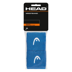 Tennis Head and Wristbands Head 2.5in Wristband  Blue/White 285075 BL
