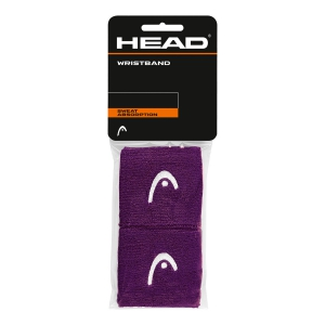 Tennis Head and Wristbands Head 2.5in Wristband  Purple/White 285075 PU