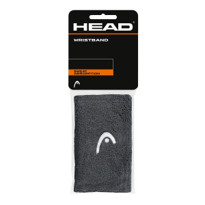 "Tennis Head and Wristbands Head Wristband 5""  Anthracite/White 285065 AN"