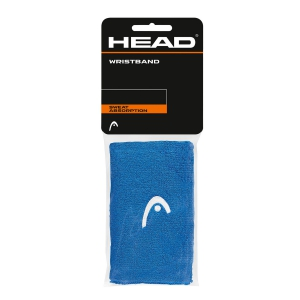 Tennis Head and Wristbands Head 5in Wristband  Blue/White 285065 BL