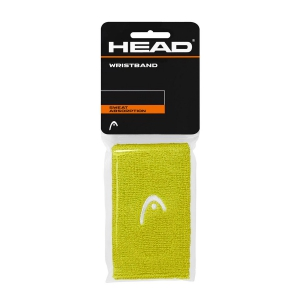 "Fasce e Polsini Tennis Head Wristband 5""  Lime/White 285065 LI"