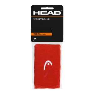 Tennis Head and Wristbands Head 5in Wristband  Red/White 285065 RD