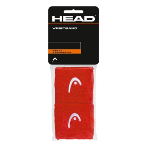 Tennis Head and Wristbands Head 2.5in Wristband  Red/White 285075 RD