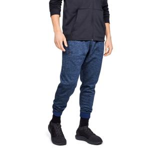 Men's Tennis Pants and Tigths Under Armour ColdGear Armour Fleece Pants  Navy 13207600408