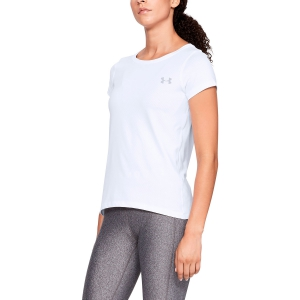 Women`s Tennis T-Shirts and Polos Under Armour HeatGear Armour TShirt  White 13289640100