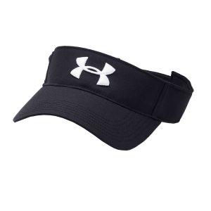 Gorras de Tenis Under Armour Men's Core Visor  Black 13286760001