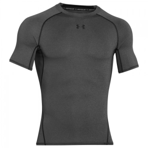 Intimo de Tenis Hombre Under Armour HeatGear Compression TShirt  Dark Grey 12574680090