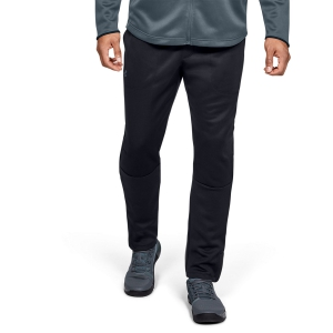 Men's Tennis Pants and Tigths Under Armour MK1 WarmUp Pants  Black 13452800001