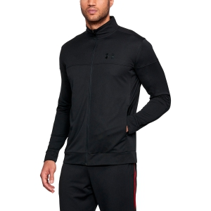 Chaquetas Tenis Hombre Under Armour Sportstyle Pique Jacket  Black 13132040001