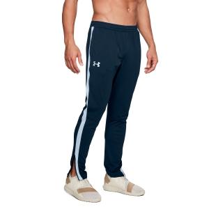 Men's Tennis Pants Under Armour Sportstyle Pique Pants  Navy/White 13132010408