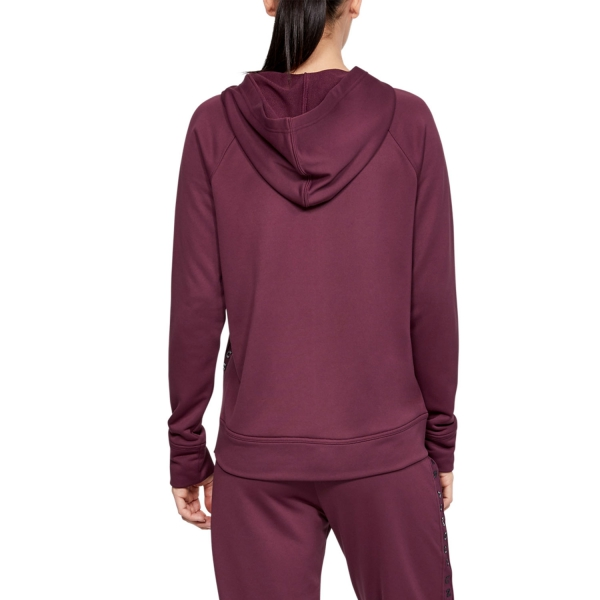 Under Armour Tech Terry Hoodie - Purple
