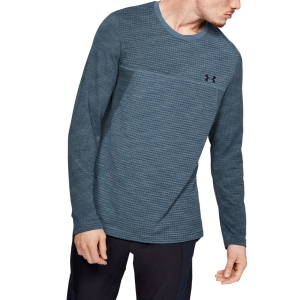 Men's Tennis Shirts and Hoodies Under Armour Vanish Seamless Shirt  Gray 13453110013
