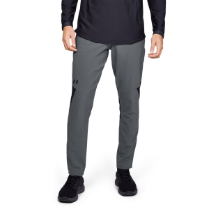 Men's Tennis Pants and Tigths Under Armour Vanish Woven Pants  Gray 13286980012