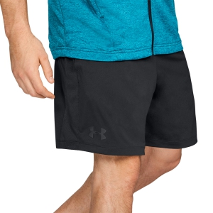 Men's Tennis Shorts Under Armour MK1 7in Shorts  Black 13122920001