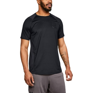 Men's Tennis Shirts Under Armour MK1 Logo Graphic TShirt  Black 13208250001