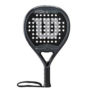 Padel Racket Wilson Carbon Force Pro Padel  Black/Grey WR005311F2