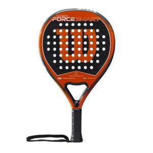 Padel Racket Wilson Carbon Force Smart Padel  Black/Orange WR005211F2