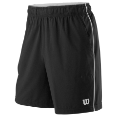 Wilson Competition 8in Shorts - Black/White
