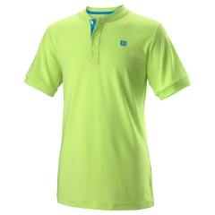 Wilson Henley Polo Niño - Sharp Green