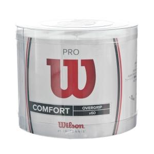 Overgrip Wilson Comfort Pro OverGrip White  60 pieces box WRZ4024WH