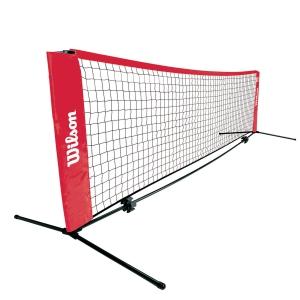 Rede Tenis Wilson 6.1 mt Red Mini Tenis WRZ259700