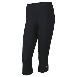 Pantalones y Tights de Tenis Mujer Wilson Rush II Capri  Black WRA742001