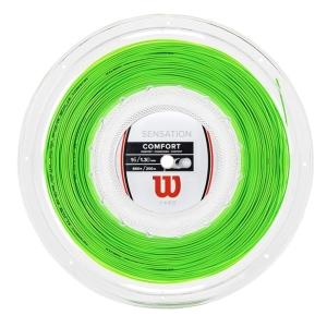 Corde Multifilamento Wilson Sensation 1.30 Matassa 200 m  Neon Green WR8301801