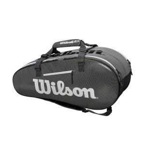 Bolsa Tenis Wilson Super Tour 2 Comp Large x 9 Bag  Black/Grey WRZ843909