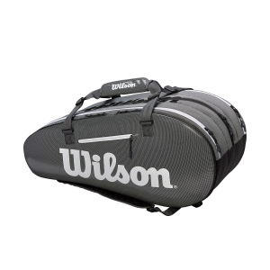Tennis Bag Wilson Super Tour 3 Comp x 15 Bag  Black/Grey WRZ843915