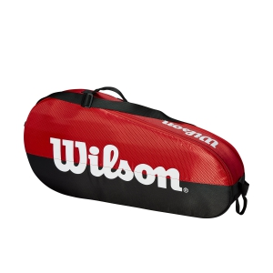Tennis Bag Wilson Team 1 Comp x 3 Bag  Red/Black WRZ857903