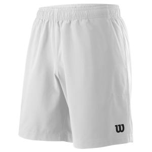 Pantalones Cortos Tenis Hombre Wilson Team 8in Shorts  White WRA765501