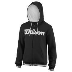 Wilson Team Script Full Zip Hoodie - Black/White