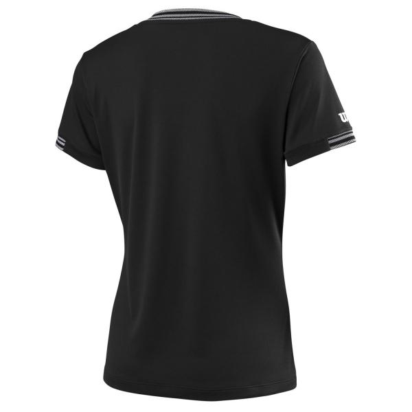 Wilson Team V Neck T-Shirt - Black