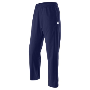 Men's Tennis Pants and Tights Wilson Team Woven Pants  Blue Depths WRA765702
