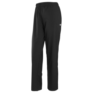 Women's Tennis Pants and Tights Wilson Team Woven Pants  Black WRA766501
