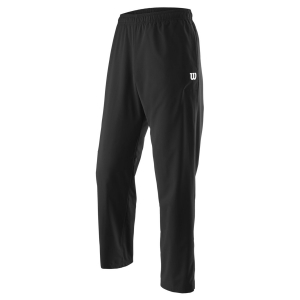 Men's Tennis Pants and Tights Wilson Team Woven Pants  Black WRA765701