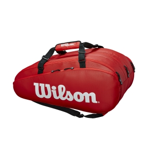 Tennis Bag Wilson Tour 3 Comp x 15 Bag  Red WRZ847915