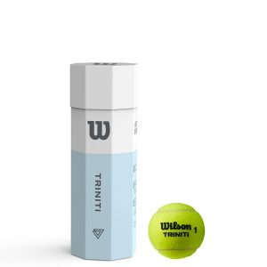 Wilson Tennis Balls Wilson Triniti 3 Ball Can WRT125200
